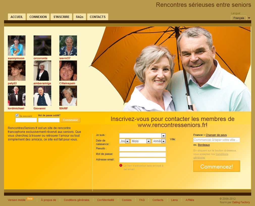Site de rencontre popularit